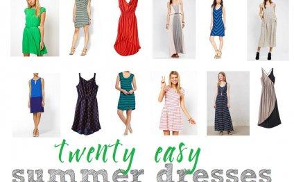 20 Easy, Flattering Summer