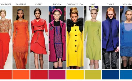 2014 Fashion Color Trends Meet