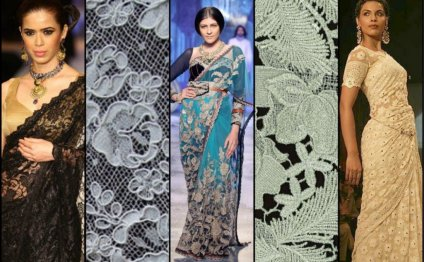 Lace Sarees Collection by