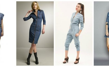 Denim. The denim fashion trend