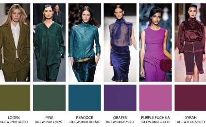 Fashion color trends for