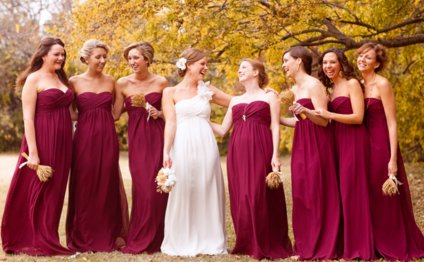 Bridesmaid Dresses In Fall
