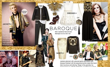 Baroque is a vintage style