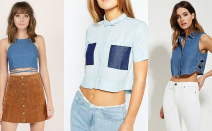 Would You Wear a Denim Crop