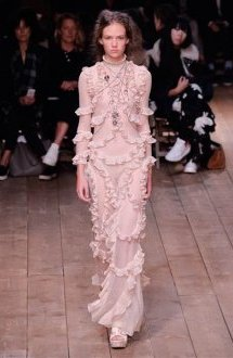 Alexander McQueen Paris Fashion Week Spring/Summer 2016