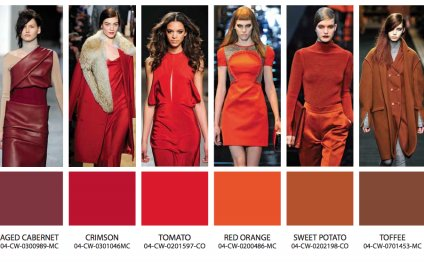 Fashion color trends 2014