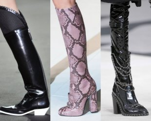boots 10 available styles from Fall 2014 Runways
