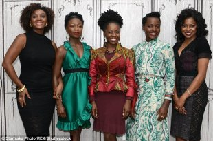 Co-stars: Nyong'o was joined by her fellow cast users - Saycon Sengbloh, Akosua Busia, Zainab Jah and Pascale Armandas - when it comes to occasion in which they discussed their particular play Eclipsed