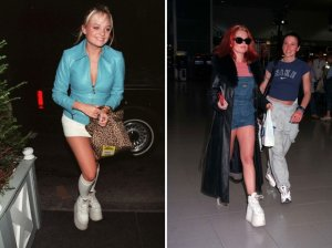 Emma Bunton and Geri Halliwell.