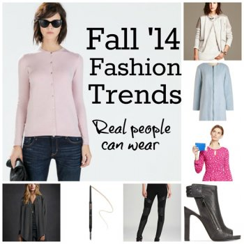 Fall 2014 Fashion Trends for Real visitors