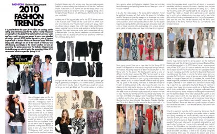 Fashion trends Magazine