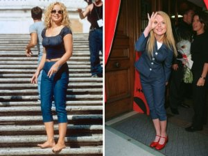 Geri Halliwell in pedal-pushers