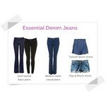how-to buy womens jeans,  an ideal fitting jeans