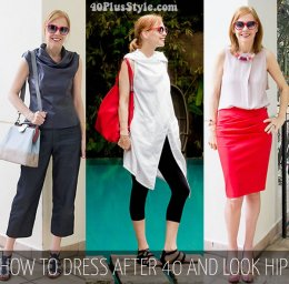 Simple tips to outfit after 40