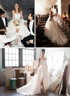 Justin Alexander wedding gowns 2016