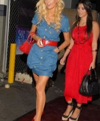 kim kardashian paris hilton fashion trends 00s bubble top dress