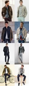 Men's Light Spring/Summer Jacket Layering Outfit Inspiration Lookbook