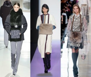 muff trends 10 Accessible styles Through the Fall 2014 Runways
