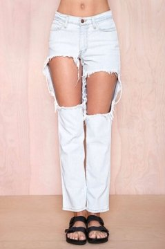 nasty gal awesome torn jeans