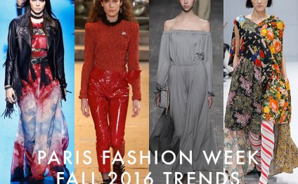 Fashion trends in Paris