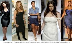 Plus size famous people and manner models
