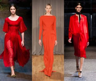 red trend autumn 2014 10 available Trends From the Fall 2014 Runways
