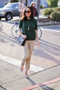 spring color combinations camel forest green