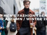 Fall Winter 2015 Fashion trends for Men