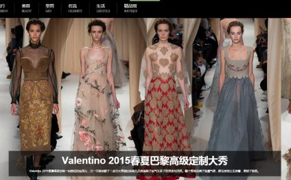 China Fashion trends