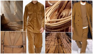 Top Color,  Menswear marketplace,  F/W 2015-16,  SADDLE BROWN (Landscape Tones)