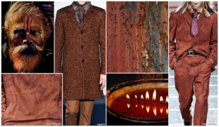 Top colors,  Menswear Market,  F/W 2015-16,  iron-oxide