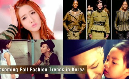 Latest Korean fashion trends 2014