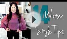 14 WINTER STYLE TIPS // Sanctuary of Style with Tiffany Hendra