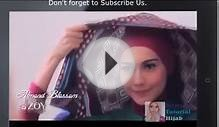 4 New Hijab Tutorials Casual Style 2014