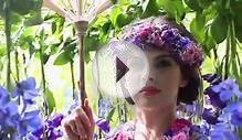 Flower Dress RHS Chelsea Flower Show 2015 - Larry Walshe