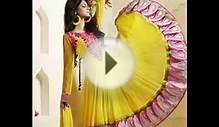 Indian Fancy Frock Designer Dresses 2015 For Women