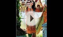 Latest Fashion Taana Baana Phulkari Winter Dresses