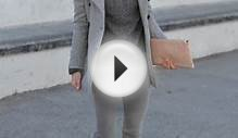 Latest fashion trends: Street style | Casual grey outfit