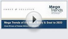 Mega Trends of the Mind Body and Soul to 2020 at GIL Europe