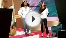 Oversized fashion trends with Trinny Woodall