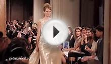 Romona Keveza Wedding Dresses | Runway Video Fall 2012