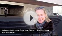 Shop Street Style: NY Fall 2011 Fashion Week