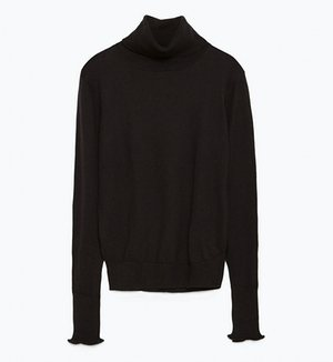 Zara high throat sweater